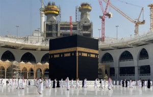 وصول الدفعة الأولى من الحجاج الى مكة المكرمة