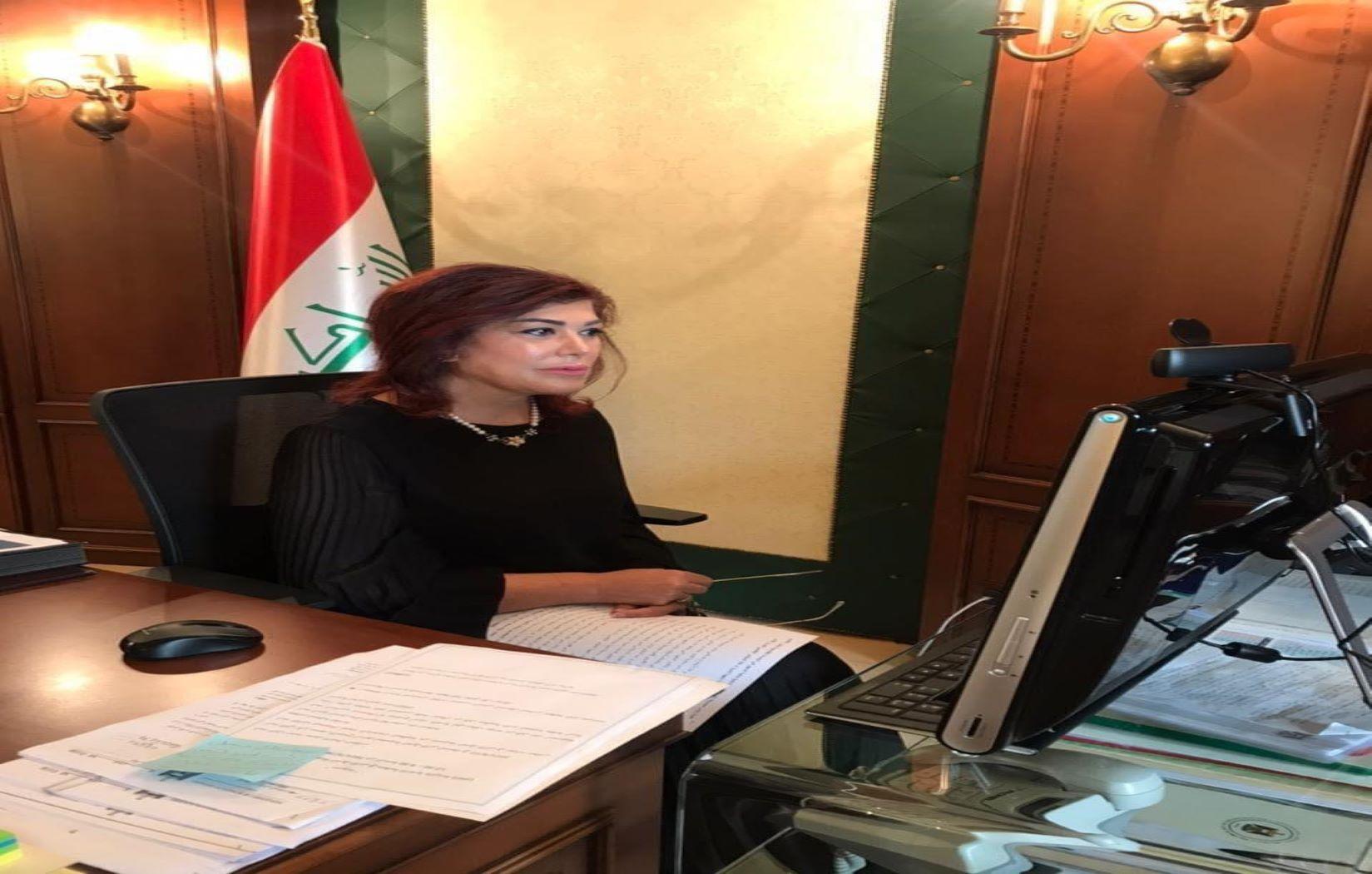 السهيل تهنئ بنجاح المؤتمر التحضيري الحواري للمؤتمر الاقليمي والذي انعقد افتراضياً بادارة العراق