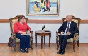 العراق والامم المتحدة يبحثان إدارة المنظمات الدولية المتخصصة ومكاتب الأمم المتحدة في العراق